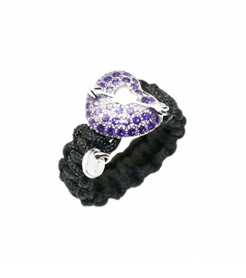 ANILLO IVORY LOVE VIOLET