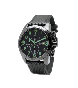 BLACK CHRONOGRAPH GREEN
