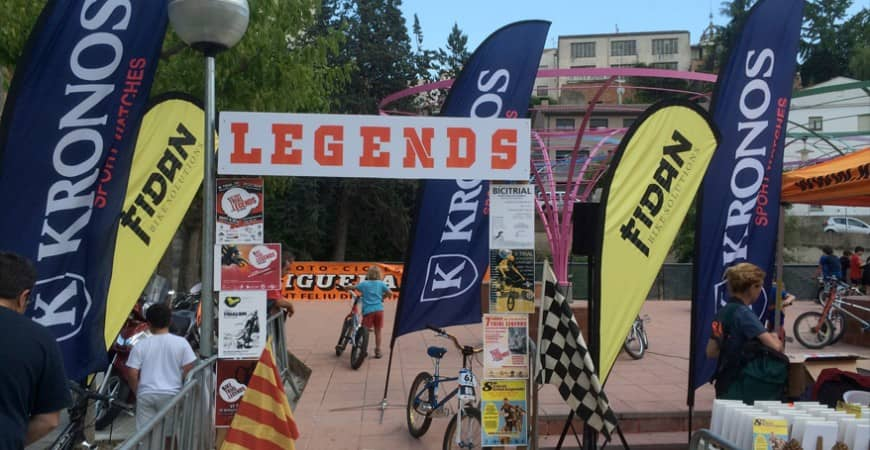 KRONOS patrocina el 8º Trial Legends