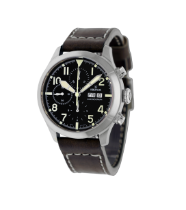 PILOT AUTOMATIC CHRONOGRAPH DAY DATE BLACK