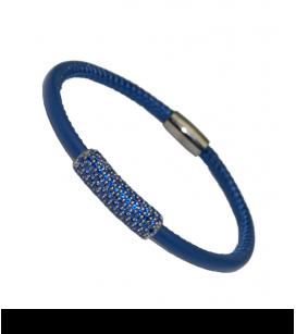 PULSERA IVORY BLUE
