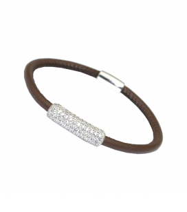 PULSERA IVORY CHOCOLATE