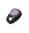 ANILLO IVORY HAPPY VIOLET