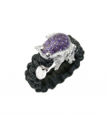 ANILLO IVORY FROG VIOLET