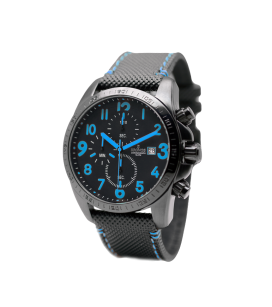 BLACK CHRONOGRAPH BLUE
