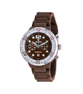 COLORS CHRONOGRAPH BROWN