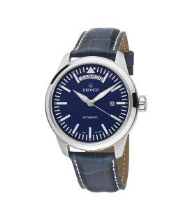 PILOT AUTOMATIC DAY DATE BLUE
