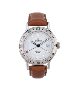 FLY AUTOMATIC GMT SILVER