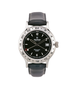 FLY AUTOMATIC GMT BLACK