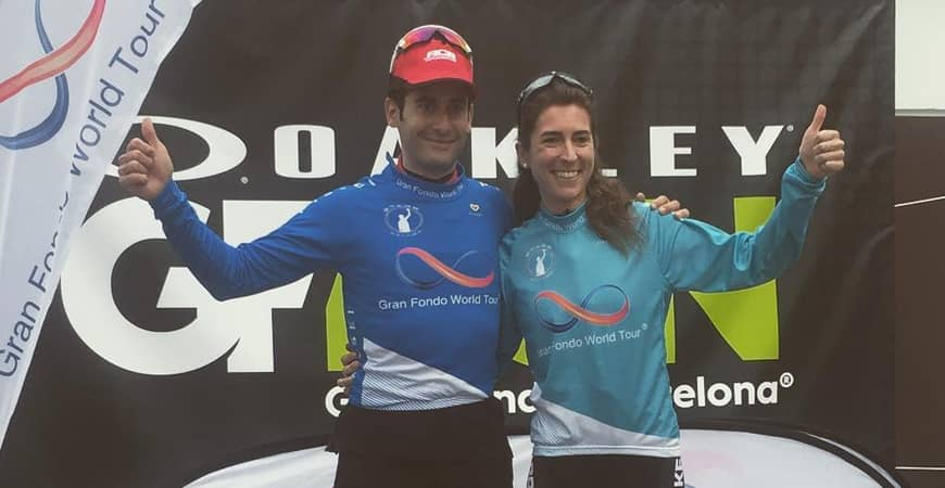 El ganador de la Oakley Gran Fondo Barcelona premiado con un KRONOS
