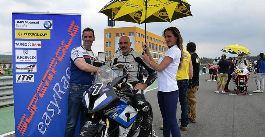 Juan Manuel Ruiz consigue un KRONOS en la Copa S1000RR easyrace