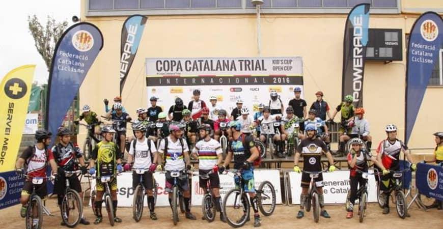 COPA CATALANA DE TRIAL: Abel Mustieles y Gemma Abant se imponen en L'Esquirol