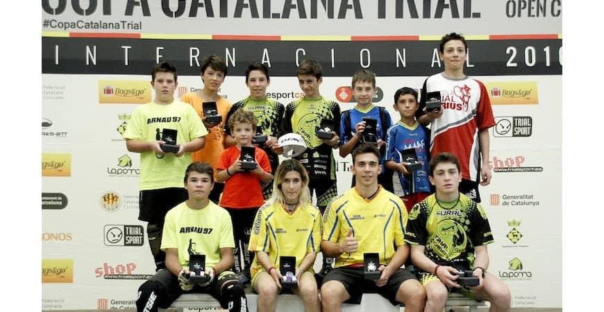 Final de la Copa Catalana de Trial en Terrassa