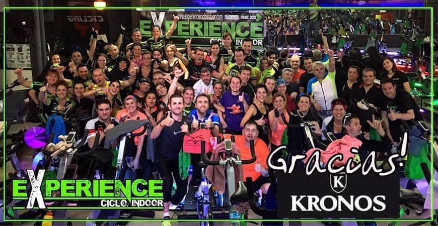 Participamos en el Reto 2017 de Experience Ciclo Indoor