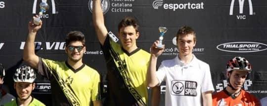 Copa Osona: Primera victoria para Carla Caballé y segunda para Sergi Llongueras