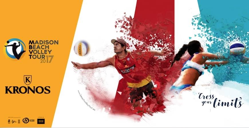 KRONOS, reloj oficial del Madison Beach Volley Tour