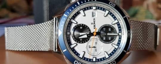El nuevo KRONOS Sport Q Racing Chronograph, en el blog de Javier Gutiérrez Chamorro