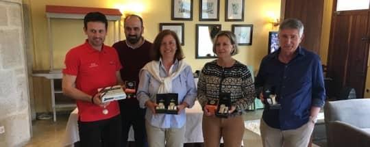 Torneos de golf Relojes KRONOS en Balneario de Mondariz y Vigo