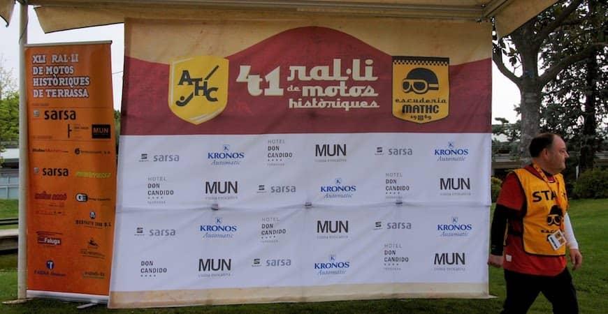 Colaboramos con el 41º Rally de Motos Históricas de Terrassa