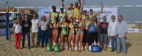 Kronos reloj oficial del Campeonato de Cataluña de Vóley Playa