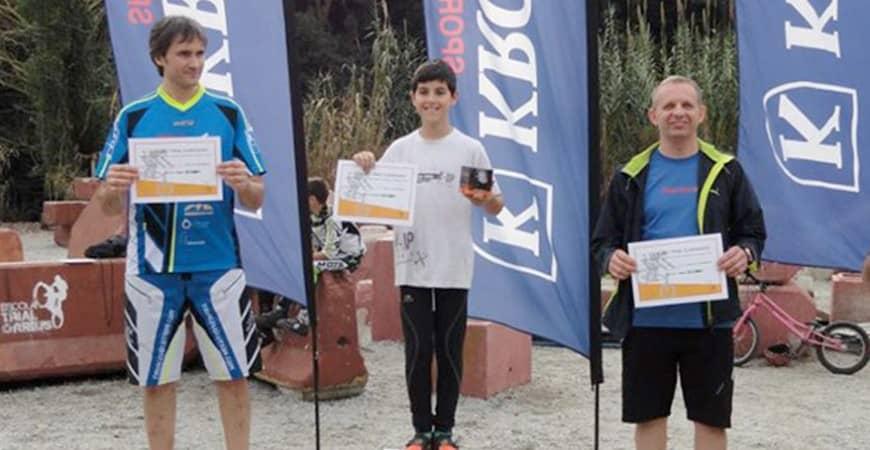 Obsequios KRONOS para los ganadores de la Copa Trial Clàssic 2014
