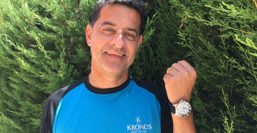 Xavier Bonastre fan de Kronos