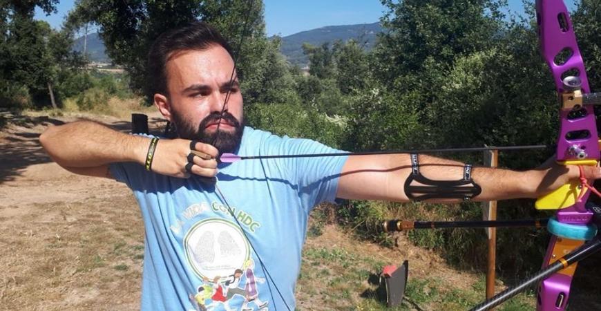 Roger Hermosilla, deportista de élite con HDC