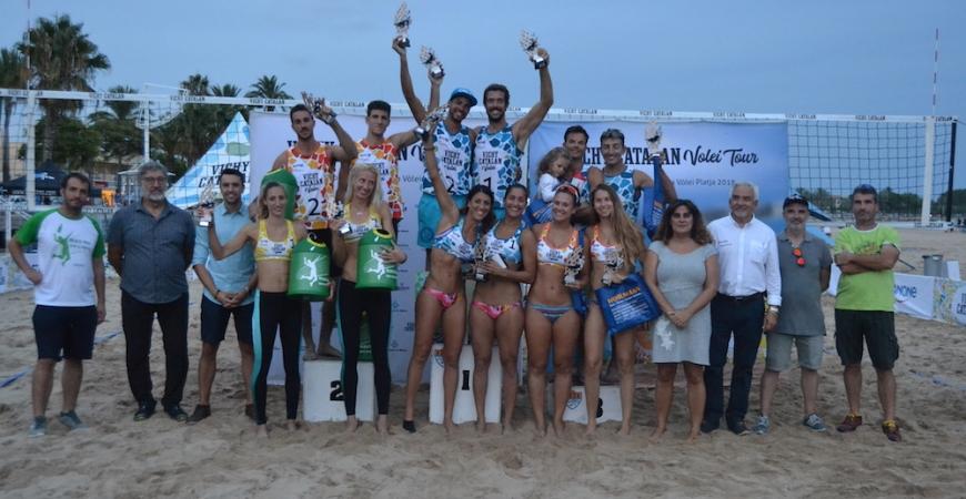 Final del Campeonato de Cataluña de Vóley Playa 2018