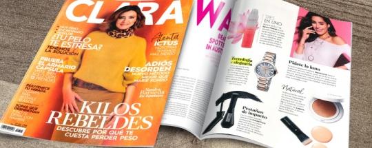 Kronos en la revista Clara