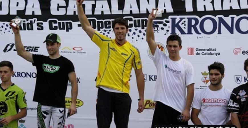 KRONOS con la Copa Catalana de Trial en Òrrius (5ª etapa)