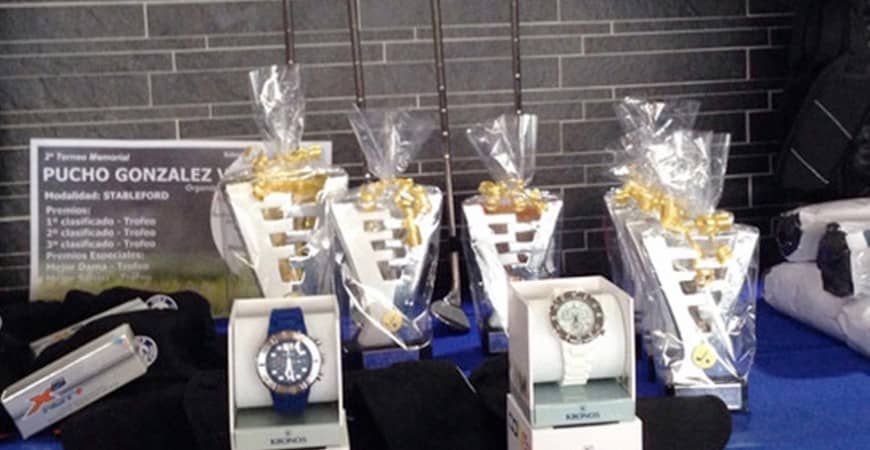Premios KRONOS en el 2º Torneo Memorial Pucho González