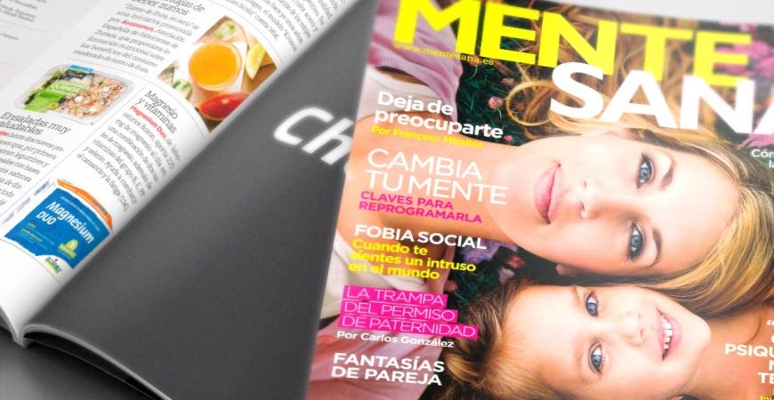 Reloj Kronos Ladies Bicolor en la revista Mente Sana