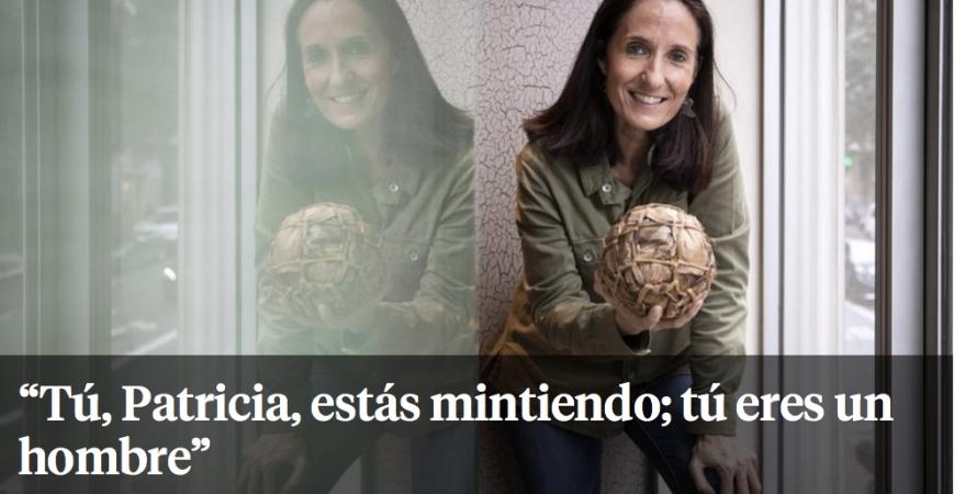 Patricia Campos en La Vanguardia