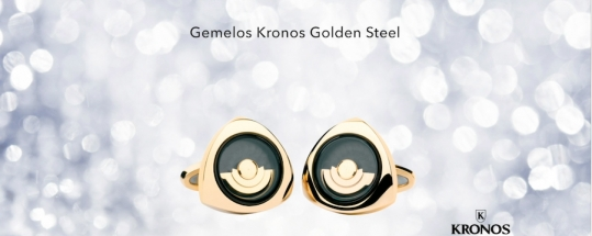 Completa el look con los gemelos Kronos