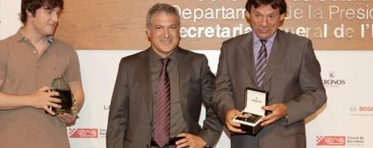 KRONOS participa en la entrega de premios Pitlane #0accidentes