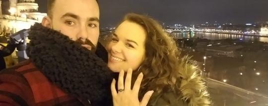 ¡Roger Hermosilla, deportista de #ITSYOURTIME, se ha comprometido con Rachel Reshonsky!
