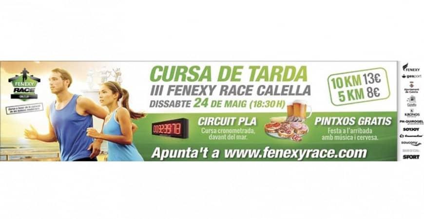 Colaboramos con la carrera solidaria Fenexy Race Calella