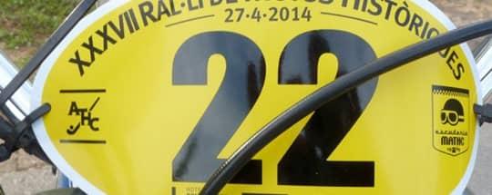 Patrocinamos el 37º Rally de Motos Históricas de Terrasa