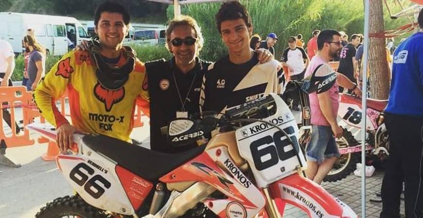 Team KRONOS + MOTO en las 3 Horas de Canet de Mar