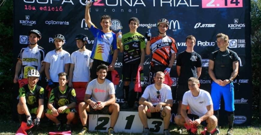 Copa Osona: Bernat Seuba y Carla Caballé se llevan la victoria en Tona