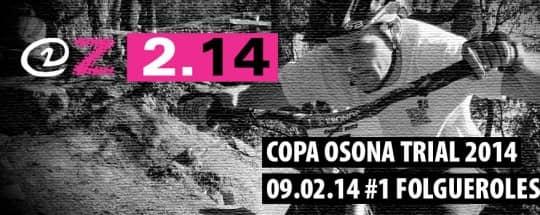 KRONOS repite patrocinio de la Copa Osona de Trial