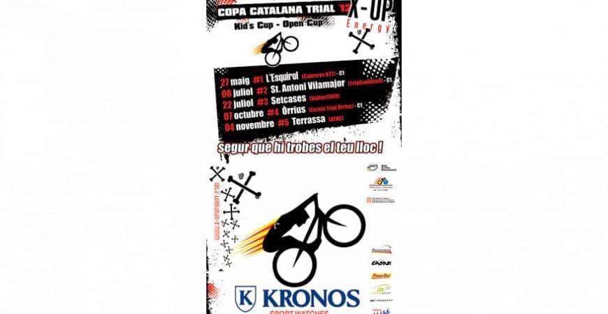 LA COPA CATALANA DE TRIAL 2012 X-UP PATROCINADA POR KRONOS