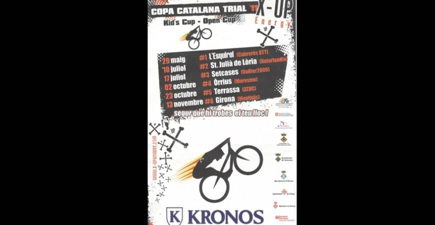 COPA CATALANA TRIAL 11 X-UP ENERGY