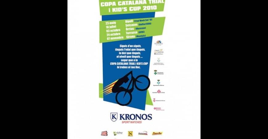 KRONOS ESPONSOR OFICIAL DE LA COPA CATALANA DE TRIAL KID`S CUP 2010