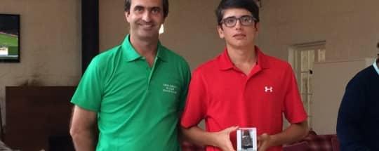 Premios KRONOS en el I Open Ibérico de Golf Vidago Palace