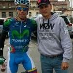5.Jordi Solano con Jaime Roson ciclista amateur que actualmente está en RGA Caja Rural.