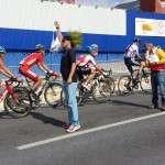 15. Jordi Solano en el avituallamiento del Campeonato del Mundo de Ciclismo.