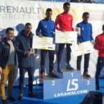 Podio 5 km masculino Viladecans